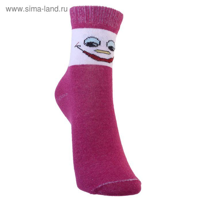 Носки детские 3с14, размер  18(16-18), цвет бордовый