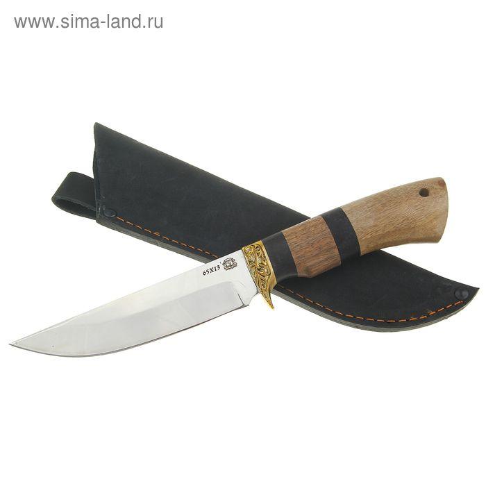 "Нож нескладной ""Кайман-1"", сталь 65х13"