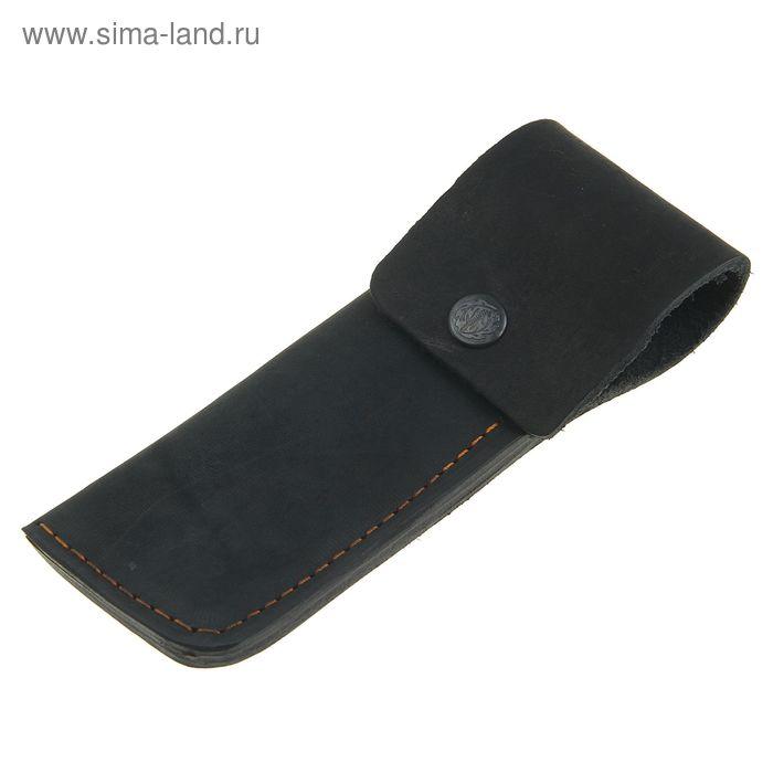 Чехол кожаный для складного ножа, 19 х 6,5 см