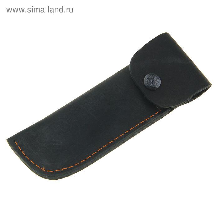 Чехол кожаный для складного ножа, 18 х 6 см
