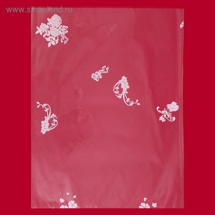 """Пакет подарочный """"Ассорти"""" 25 х 35 см, однотонный рисунок"""