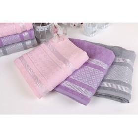 """Полотенце махровое """"Этель"""" Bambolina, размер 30х50 см, цвет дымчато-розовый"""