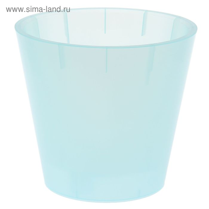 """Горшок для цветов 5 л """"Фиджи. Орхид"""" d=23 см, цвет голубой перламутр"""