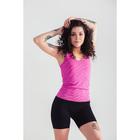 Спортивная майка ONLITOP Fitness time, размер 46-48, цвет фуксия
