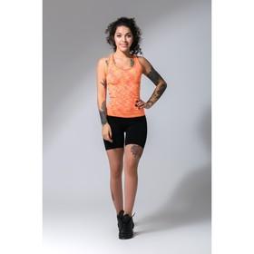 Спортивные шорты ONLITOP Fitness time, размер 46-48, цвет коралловый