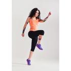 Спортивные бриджи ONLITOP Fitness time, размер 46-48, цвет коралловый