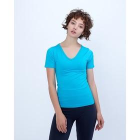 Спортивная футболка ONLITOP Balance, размер 40-42, цвет голубой