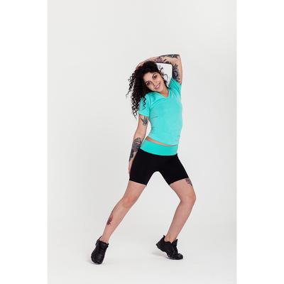Спортивные шорты ONLITOP Balance, размер 42-44, цвет мятный