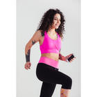 Спортивные бриджи ONLITOP Balance, размер 46-48, цвет розовый