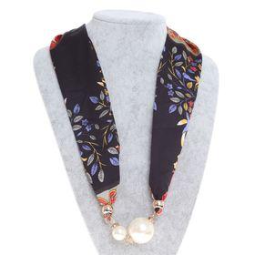 Бусы-шарф жемчужины, цвет МИКС, 70см