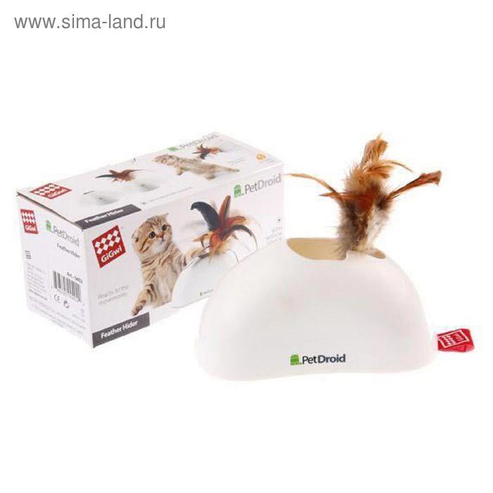 Электронная игрушка GiGw для кошек Pet Droid, Фезер Хайдер, БАТАРЕЙКИ В КОМПЛЕКТЕ