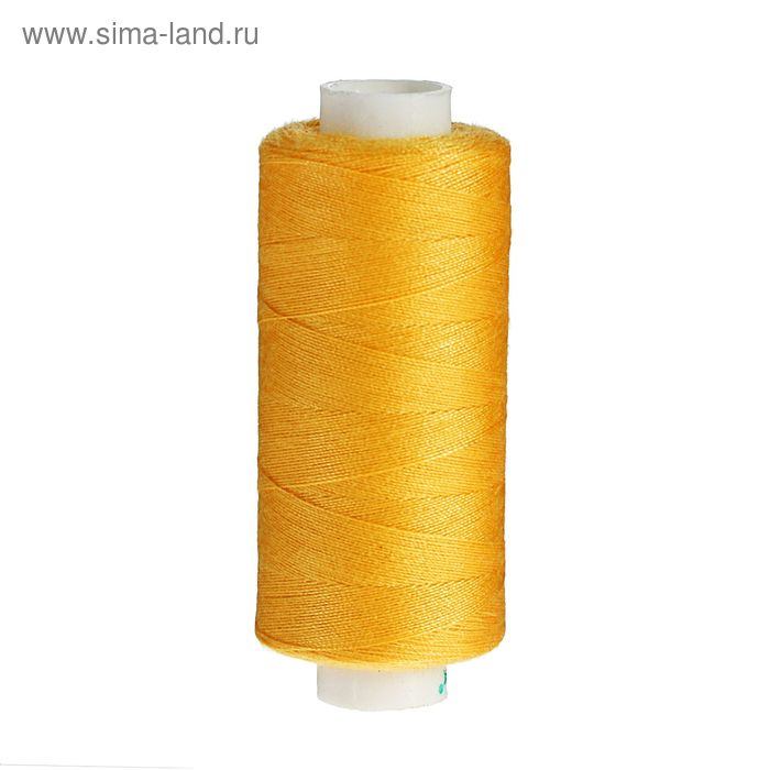 Нитки 40/2, 365м, №113, цвет жёлтый