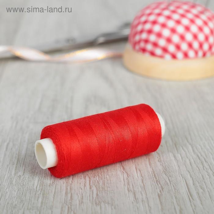 Нитки 40/2, 365м, №117, цвет красный