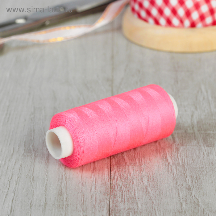 Нитки 40/2, 365м, №472, цвет розовый