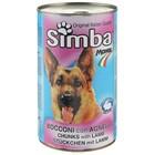 Влажный корм Simba Dog для собак, кусочки ягненка, 415 г