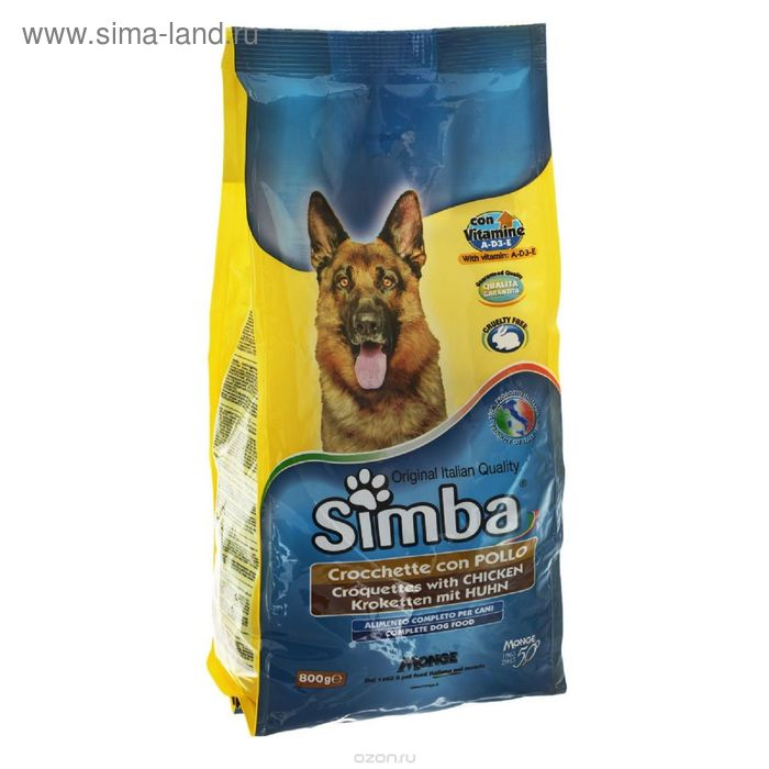 Сухой корм Simba Dog  для собак, с курицей, 10 кг