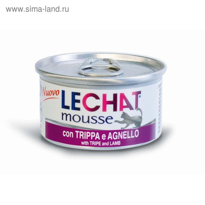 Мусс Lechat mousse для кошек, потрошки/ягненок, 85 г