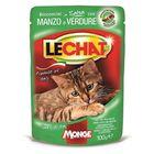 Паучи Lechat Pouch  для кошек, говядина/овощи, 100 г