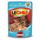 Паучи Lechat Pouch для кошек, с океанической рыбой, 100 г