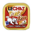 Консервы Lechat  для кошек, говядина/куриная печень, 100 г