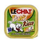 Консервы Lechat  для кошек, курица/индейка, 100 г