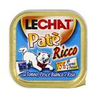 Консервы Lechat  для кошек, тунец/океаническая рыба/рис, 100 г