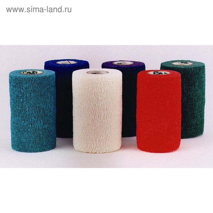 """Бандаж Andover PetFlex цвета """"радуга"""", 10 см х 4,5 м"""