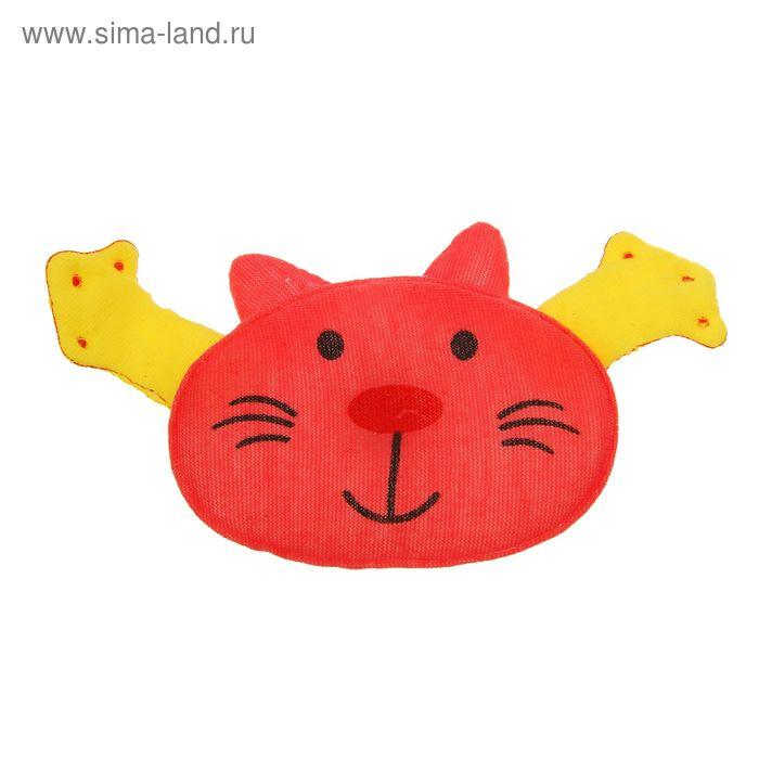 """Мягкая игрушка-магнит """"Котик"""" с лапками, цвета МИКС"""