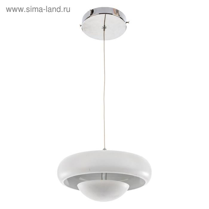 "Люстра абажур ""Кастелло"" 5 ламп 40W E27 основание хром 55х55х90 см"