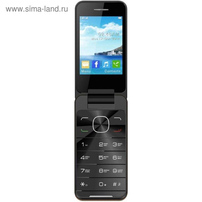 Сотовый телефон Jinga Simple F500 золотой