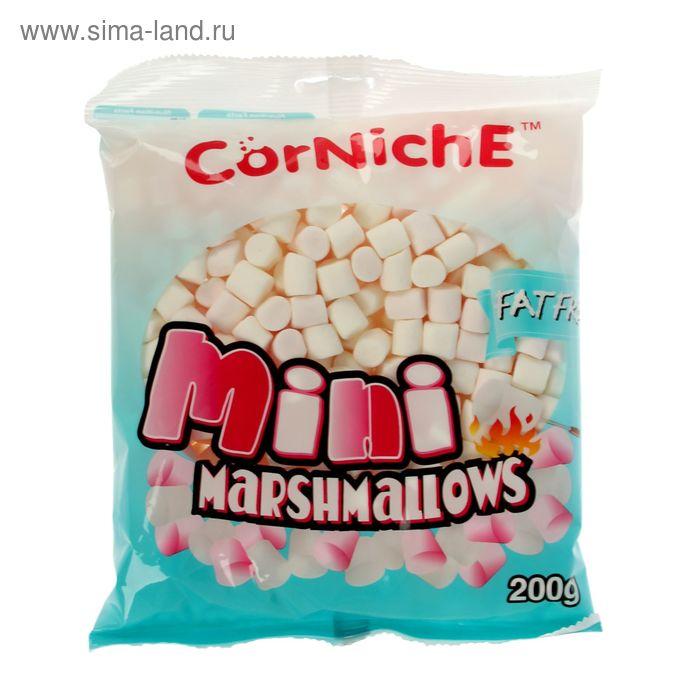 Воздушный зефир Marshmallow «CorNiche» мини Pink+White 200 гр