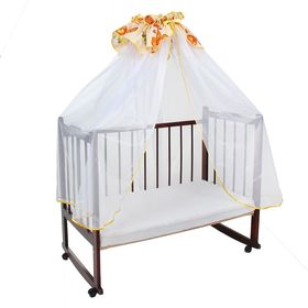 Балдахин для кроватки, размер 400х140 см, цвет бежевый 10-1ШТ Ош