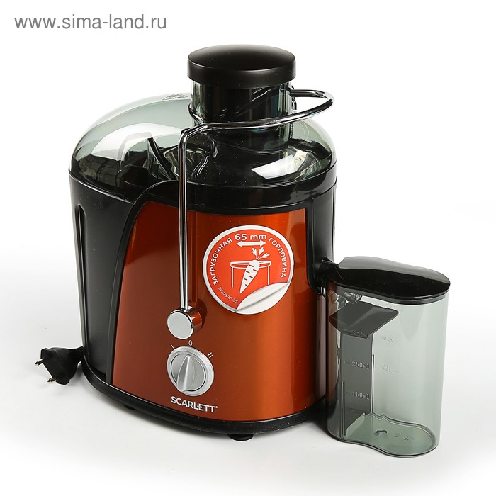 Соковыжималка Scarlett SC-JE 50 S 16, оранжевый