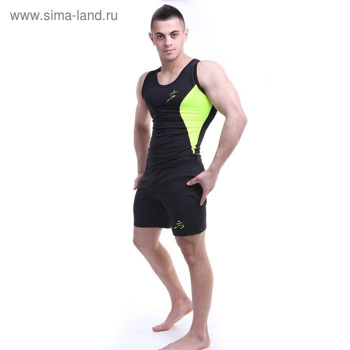 Шорты мужские Р579250 цвет черный, рост 170-176 см, р-р 54 (98)