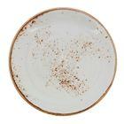 """Тарелка для пирожных d=15,5 см, h=1,3 см """"Крафт"""", цвет белый"""
