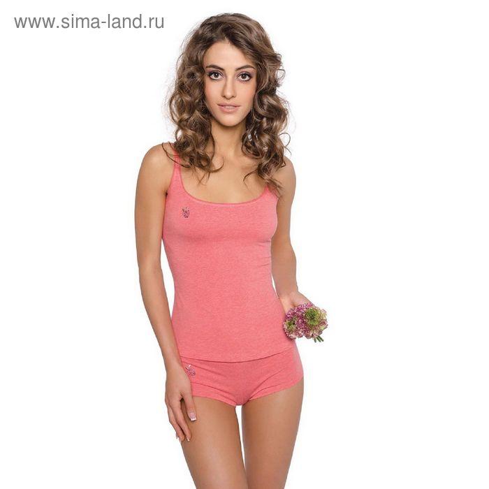 Майка женская Annie ECE2114 (меланж) orange rose, р-р 2 (42)