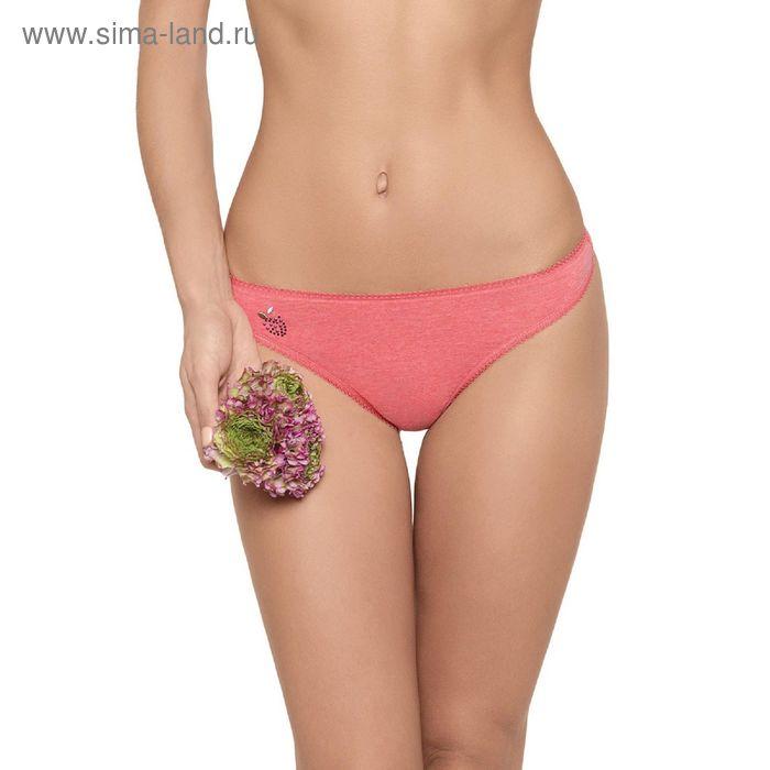 Трусы женские стринги Annie ECT0126 (меланж) orange rose, р-р 2 (42)