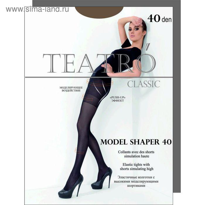 Колготки женские Model Shaper 40  (cappuccino, 2)
