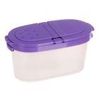 Емкость для специй 120 мл, цвет фиолетовый