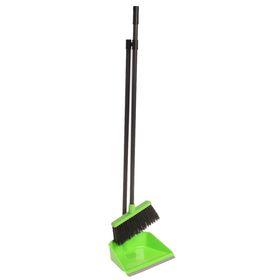 """Набор для уборки помещений """"Ленивка"""", цвет ярко-зеленый"""