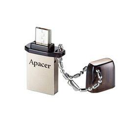 USB-флешка Apacer 16GB AH175 OTG, разъемы USB/microUSB, черная