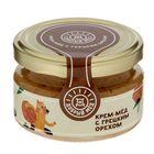 Крем-мёд с грецким орехом ТМ Добрый мёд, 120 гр