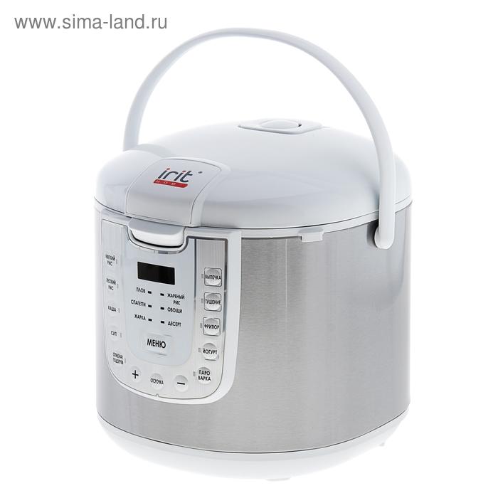 Мультиварка электрическая IR-119, 15 программ приготовления, 5 литров