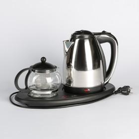 Набор чайный Irit IR-1502, чайник 1.5 л + заварочный чайник 0.8 л, 1500 Вт