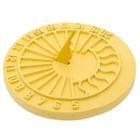 Солнечные часы (желтые) 30см