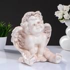 Статуэтка «Ангел карапуз сидя», состаренный 19 × 22 × 24 см