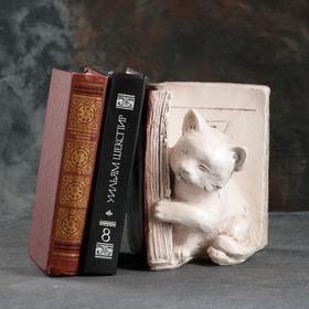 """Подставка для книг """"Котята - Z"""", состаренный коричневое 20см"""