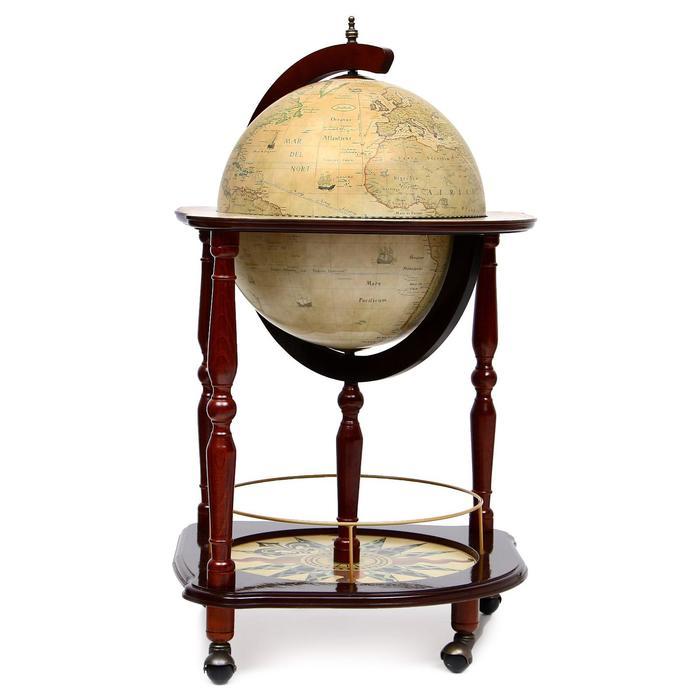 Глобус-бар напольный угловой La Gallega, d 40 см