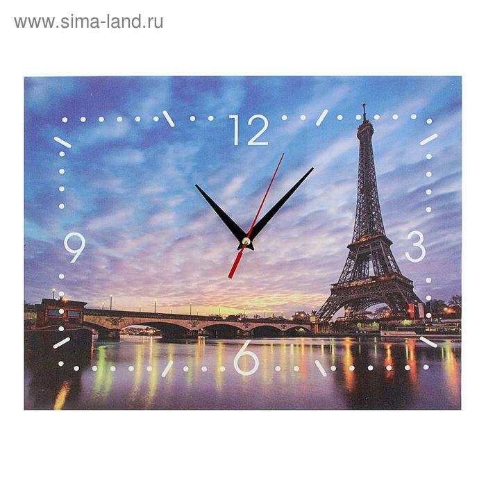 """Часы-картина """"Эйфелева башня"""""""