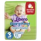 Подгузники детские Libero Every Day Midi, 4 - 9 кг, 22 шт